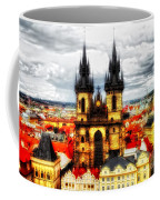 Prague Church Of Our Lady Before Tyn Coffee Mug