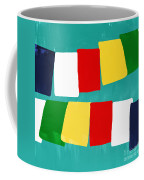 Prayer Flags Coffee Mug by Linda Woods