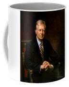President Jimmy Carter Painting Coffee Mug