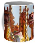 Pretty Carousel Horses Coffee Mug