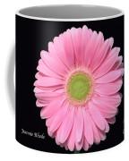 Pretty Pink Gerbera Daisy Coffee Mug