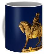 Prince Eugene Of Savoy Statue At Night Coffee Mug