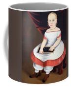 Prior Hamblin School's Little Girl With Slate Coffee Mug