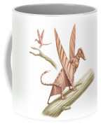 Pterandon, Illustration Coffee Mug