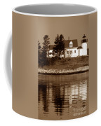 Pumpkin Island Lighthouse Coffee Mug