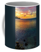 Purple And Orange Sunset Coffee Mug
