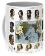 Racial Types, 19th Century Coffee Mug