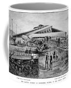 Railroad Accident, 1887 Coffee Mug