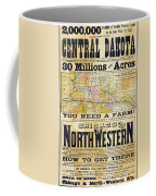 Railway Poster, 1870s Coffee Mug