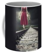 Railway Tracks Coffee Mug by Joana Kruse