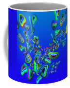 Rainbow Blue Coffee Mug
