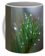 Raindrops On Pine Coffee Mug