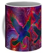 Raven On Red Coffee Mug