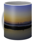 Ravenel Bridge At Dusk Coffee Mug