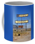 Rawlins Wyoming - Grandma's Cafe Coffee Mug