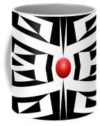 Red Ball 8 Coffee Mug