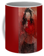 Red Is The Color Of Love Coffee Mug
