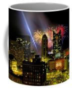 21l334 Red White And Boom Fireworks Display Photo Coffee Mug