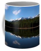 Reflection Bay - Jasper, Alberta - Panorama Coffee Mug