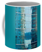 Reflections In Modern Glass-walled Building Facade Coffee Mug