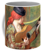 Renoir's Young Spanish Woman With A Guitar Coffee Mug