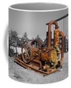 Retired Petroleum Pump Coffee Mug