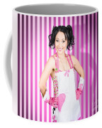 Retro Cleaning Service Maid With Smile Coffee Mug