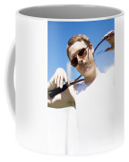 Retro Tennis 1970 Coffee Mug