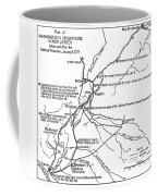 Revolutionary War Plan Coffee Mug