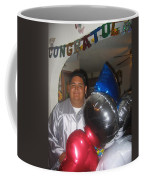 Ricardo Celebrating His High School Graduation Eloy Arizona 2002 Coffee Mug