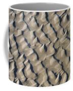 Ripple Pattern On Mudflat At Low Tide Coffee Mug