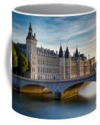 River Seine And Conciergerie Coffee Mug