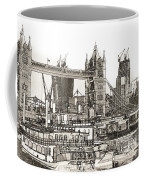 River Thames Sketch Coffee Mug
