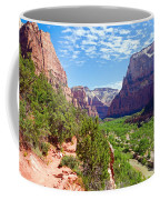 River Through Zion Coffee Mug