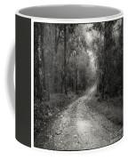 Road Way In Deep Forest Coffee Mug