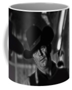 Robert Mitchum Conferring With Director Burt Kennedy Young Billy Young Old Tucson 1968 Coffee Mug