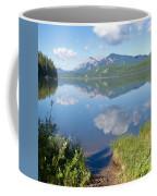 Rock Lake Alberta Canada And Willmore Wilderness Coffee Mug
