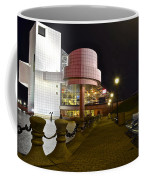 Rock N Roll Hall Of Fame Coffee Mug by Frozen in Time Fine Art Photography