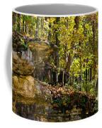 Rock Shelf And Forest Coffee Mug