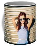 Rockabilly Greaser Pin-up. 50s Drive-in Culture Coffee Mug
