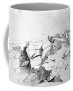 Rocks At Narragansett Coffee Mug