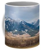 Rocky Mountains In Montana Coffee Mug