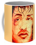 Rocky On Wall Coffee Mug