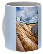 Rocky Shore Of Georgian Bay Coffee Mug by Elena Elisseeva