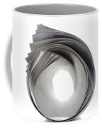 Rolled Newspaper Coffee Mug