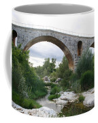 Roman Arch Bridge Pont St. Julien Coffee Mug