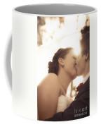 Romantic Wedding Kiss Coffee Mug