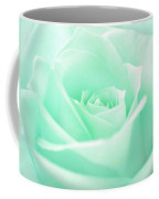 Pale Green Rose Coffee Mug