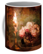 Roses By Candlelight Coffee Mug
