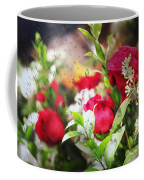 Roses In The Rain Coffee Mug